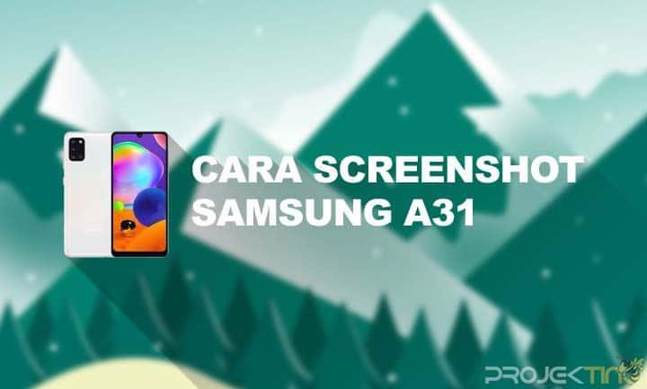 Cara SS Samsung Galaxy A31