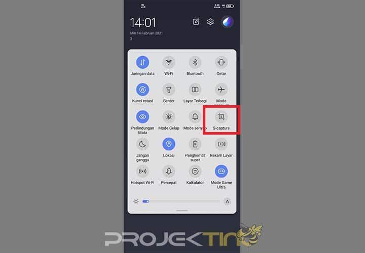 Screenshot Panjang Oppo a12