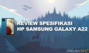 Spesifikasi Samsung Galaxy A22 Indonesia