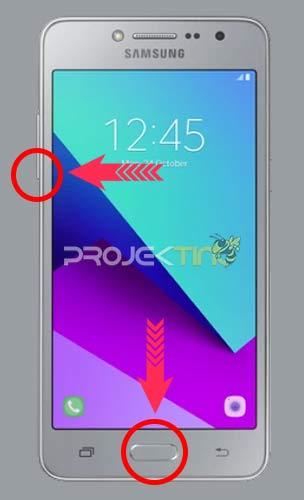 Cara Hidupkan Hp Samsung Tanpa Tombol