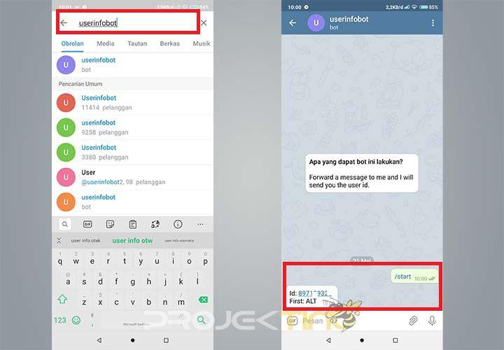 Cara Mengetahui ID Telegram
