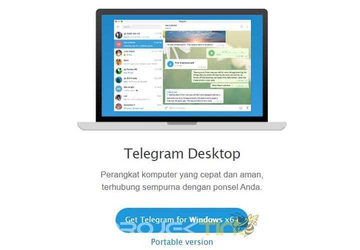 Cara Menggunakan Telegram di Laptop