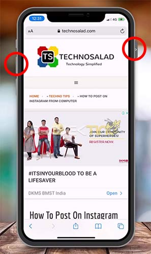 Cara Screenshot Panjang di Hp iPhone