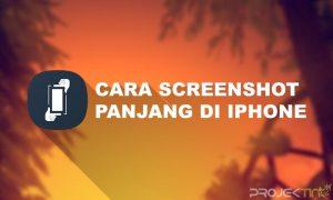 Cara Screenshot Panjang iPhone