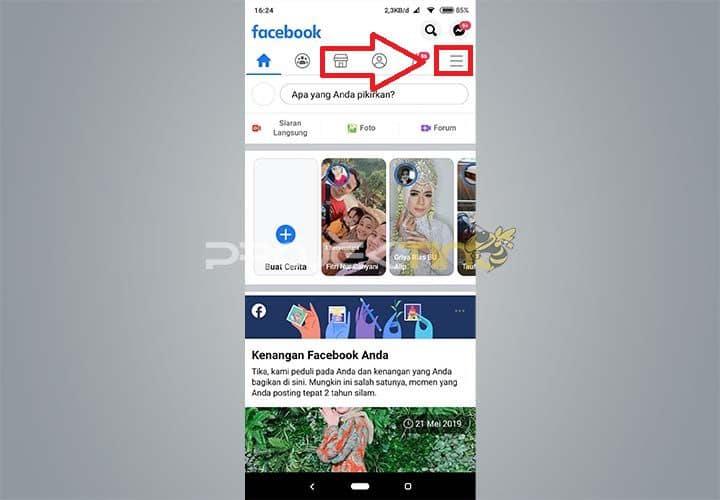 Masuk FB