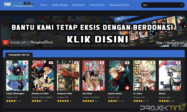 Situs Baca Manga Online Bahasa Indonesia
