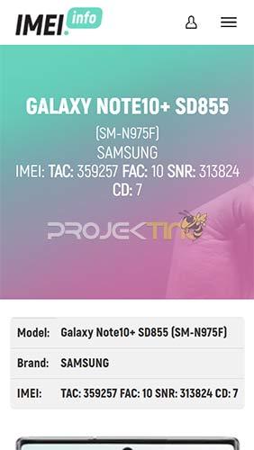 Cara Cek Tipe Samsung