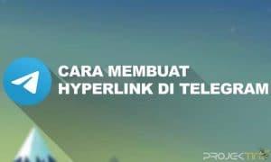 Cara Membuat Hyperlink di Telegram