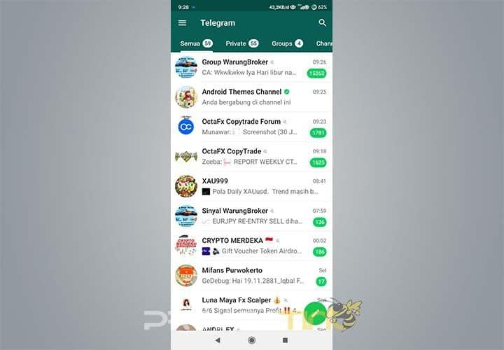 Cara Mengubah Telegram Seperti Whatsapp Dengan Benar