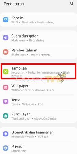Cara Merubah Tulisan di Hp Samsung