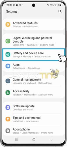 Cara Restart Samsung