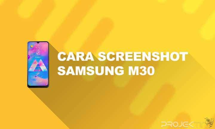Cara Screenshot Samsung M30 Panjang
