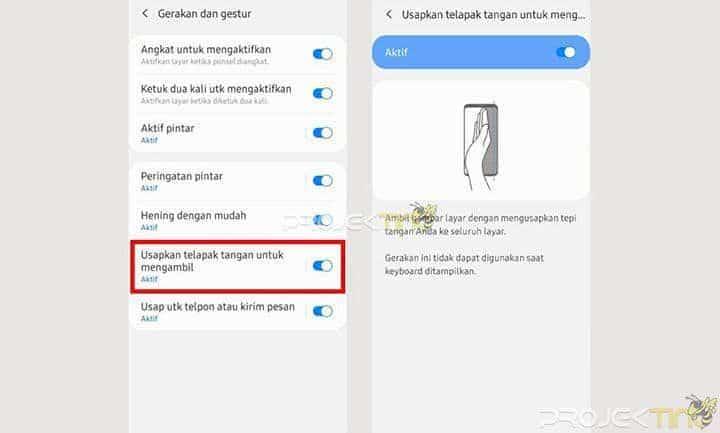 Cara Screenshot Tanpa Tombol Samsung M31