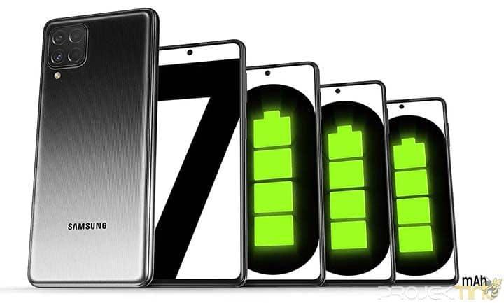 Fotografi Samsung M62