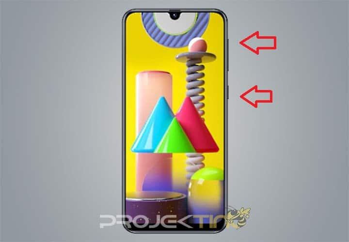 Screenshot Samsung M31
