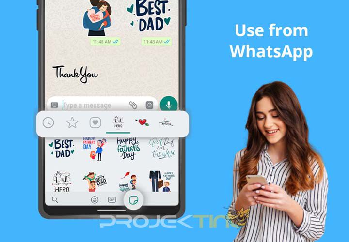 Aplikasi Membuat Stiker WA