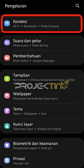 Cara Melihat Kode QR di Hp Samsung