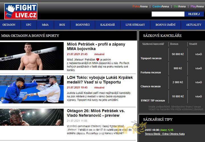 Cara Nonton UFC Live Streaming
