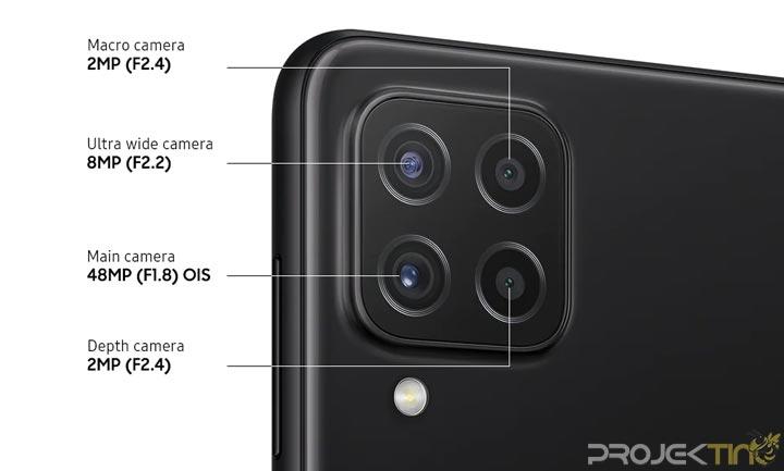 Kamera Samsung Galaxy A22 4G