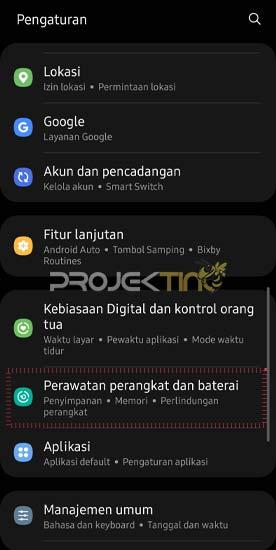 Cara Melihat Ram Hp Samsung