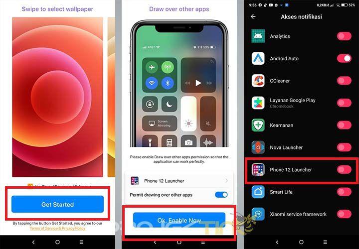 Cara Mengubah Tampilan Android Menjadi iPhone Tanpa Aplikasi