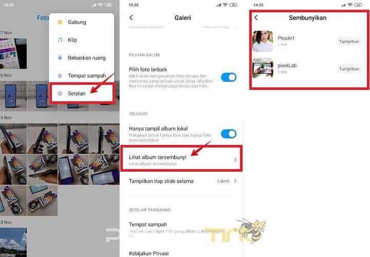Cara Melihat Album Tersembunyi di Xiaomi MIUI 12