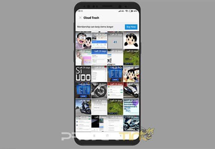 Cara Melihat Foto Tersembunyi di Xiaomi