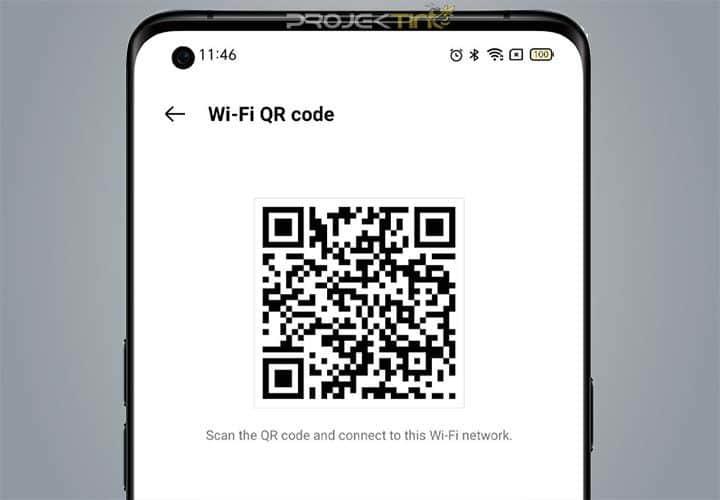 Cara Memunculkan QR WiFi OPPO