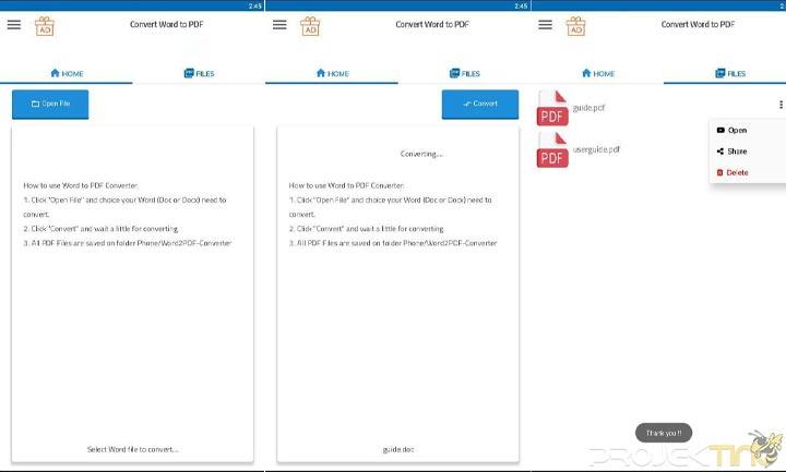 Cara Merubah File Word menjadi PDF Di HP