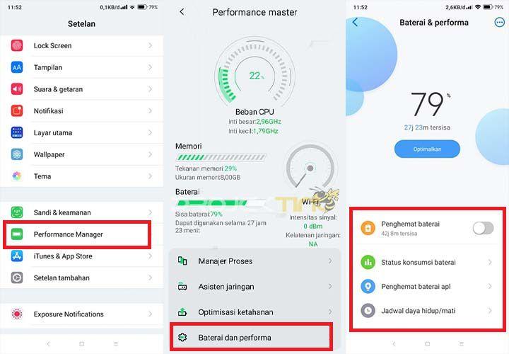 Kesehatan Baterai Xiaomi