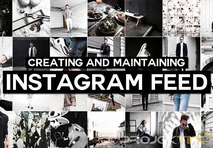 Membuat Feed Instagram Nyambung di HP