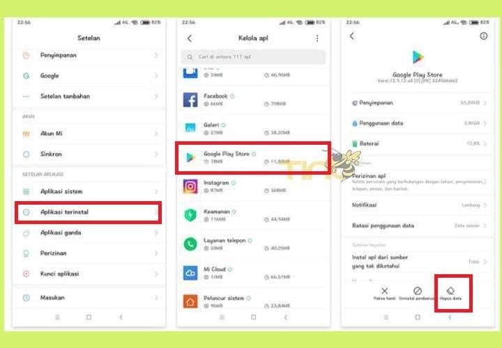 Mengatasi Download Tertunda di Play Store Xiaomi