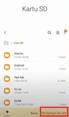 Memindahkan Aplikasi ke Kartu SD Xiaomi Tanpa ROOT