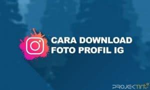 Cara Download Foto Profil IG Tanpa Aplikasi