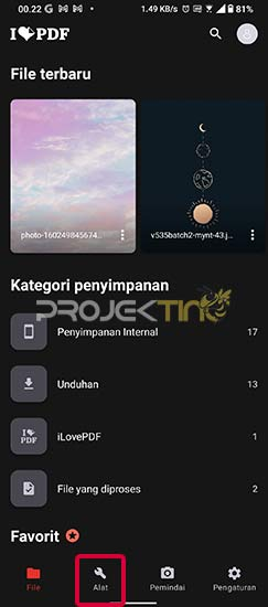 Cara Gabungkan 2 File PDF Di Android