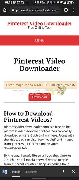Situs Download Pinterest