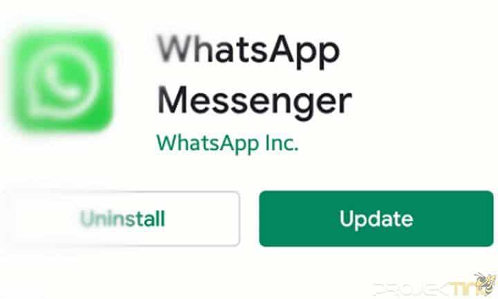 Tunggu Update Aplikasi
